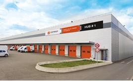 PSA Group's Distrigo parts distribution centre