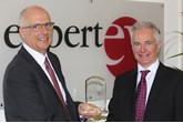 Rick Yarrow, chairman, Experteye and Richard Siney, operations director, Norton Way Group