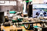F1 simulator at Inchcape Mercedes-Benz pop-up shop