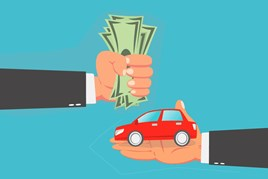 Finance and insurance feature image cash for car