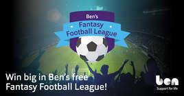 Ben's Fantasy Football League
