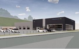 Artist's impression: Vertu Motors' new Farnell Land Rover dealership in Bradford