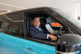 Farnell Jaguar Land Rover (JLR) operations director, Jatinder Aujla