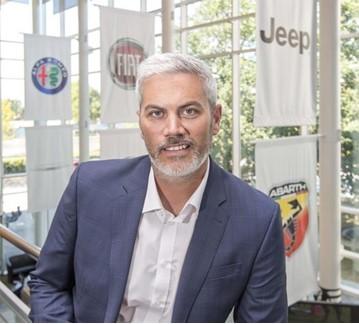 Iain Montgomery, sales director for Alfa Romeo/Jeep