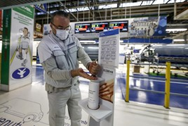 FCA Group re-starts production at its light commercial vehicle plant in Atessa, Italy