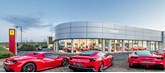 Sytner Group's existing Graypaul Ferrari UK supercar showroom in Edinburgh
