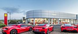 Sytner Group's existing Graypaul Ferrari UK supercar showroom in Edinburgh