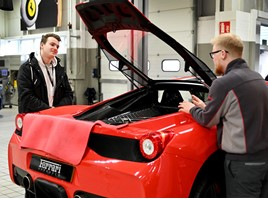 Ferrari hosted more than 400 students at its aftersales facility to showcase its apprenticeship opportunities, during National Apprenticeship Week.