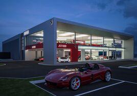 Artists' impression: JCT600's Ferrari Leeds supercar dealership