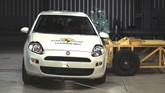 Fiat Punto in Euro NCAP safety testing