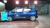 Ford Fiesta's 2017 frontal collision test