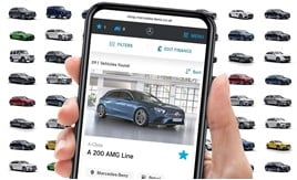 The new Mercedes-Benz live stock locator app
