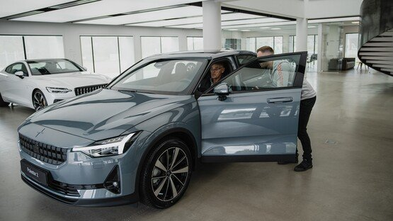 First European delivery of the Polestar 2 EV