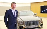 Florian Spinoly, Bentley Motors' director of product and marketing