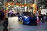 Production of the new Ford Puma crossover gets underway at Ford's Craiova manufacturing facility, in Romania