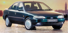 The original Ford Mondeo was launched in 1993