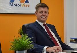 Fraser Brown, managing director, MotorVise