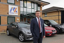 Fraser Brown, managing director of MotorVise (Automotive) Ltd