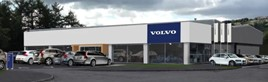 Artist's impression: FRF Volvo Swansea's redeveloped showroom