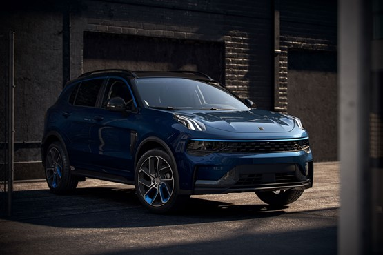 Lynk & Co's Volvo XC40-based 01 SUV