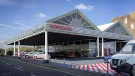 Glyn Hopkin's Nissan North London showroom