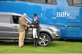 SsangYong UK CEO Paul Williams signs up Pippa Funnell MBE as a SsangYong brand ambassador