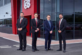 L-R: Brett Henderson, Gareth Jones, Rob Argyle, Nick Thompson)