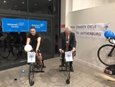 SMW Volvo charity cycle and row