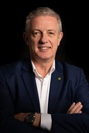 Lotus Cars' global director of sales and aftersales, Geoff Dowding
