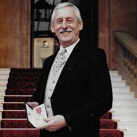 Geoffrey Atkinson OBE, former BEN charity chief executive
