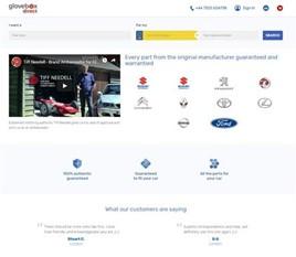 GloveBox Direct website