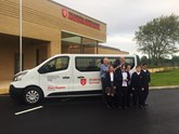 Glyn Hopkin Renault Trafic Passenger LWB minibus  National Autistic Society's Anderson School.