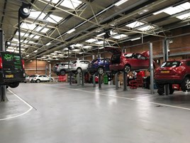 Glyn Hopkin Chelmsford multi-brand aftersales facility