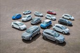 A collection of the EVs currently available to UK customers