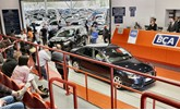 A BCA car auction