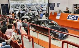 A BCA car auction