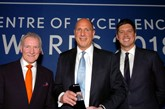 Ewan Shepherd, director, Lexus UK; Steven Eagell, managing director and founder, Steven Eagell Group; Vernon Kay