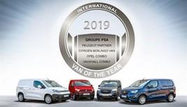 Groupe PSA IVOTY award win 2019