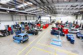 Arnold Clark's GTG training facility in Glasgow
