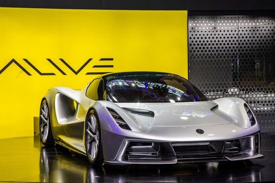 Lotus Cars' forthcoming Evija electric vehicle (EV) hypercar