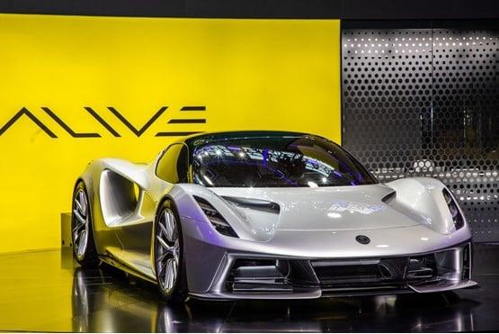 The Lotus Evija electric hypercar will cost around £2m