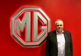 MG Motor's commercial director, Guy Pigounakis
