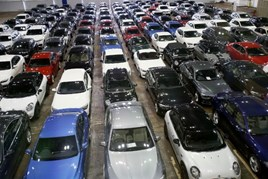 Dealers' used car stock is on the rise