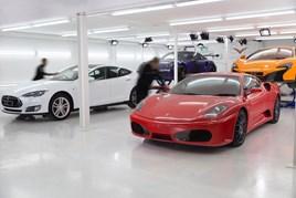GVE London's new supercar detailing centre