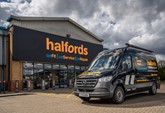 Halfords stores remained open as essential retailers and it has increased its fleet of mobile service vans