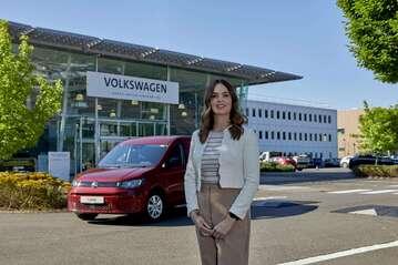 Hannah Denton, area fleet manager at Volkswagen Commercial Vehicles