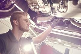 Volkswagen Group Master Technician Harry Garraway