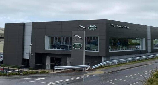 Harwood Group's Jaguar Land Rover (JLR) dealership in Brighton