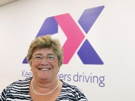 Lucy Woods, chief executive at AX