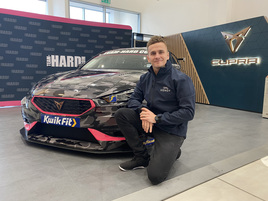Hendy Group sponsors Team HARD Cupra Leon BTCC racer Árón Taylor-Smith